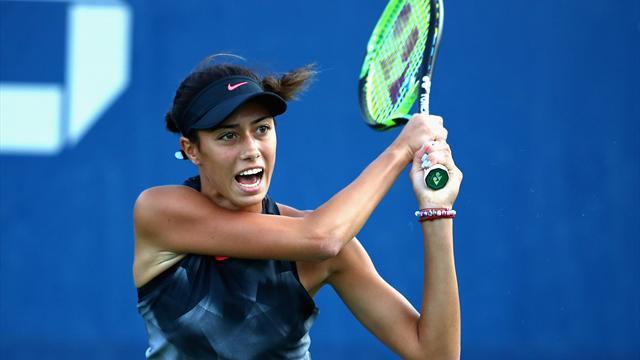 Danilovic première joueuse née au 21e siècle vainqueur d'un tournoi WTA