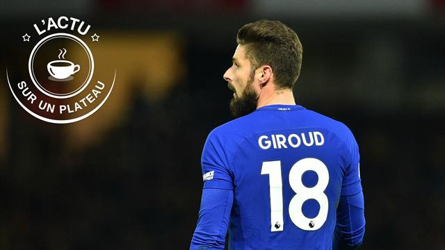 Giroud, record du monde, Thomas : l'actu sur un plateau