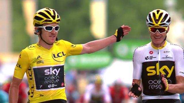 Жесткие падения, триумф Томаса и другие ключевые моменты «Тур де Франс»