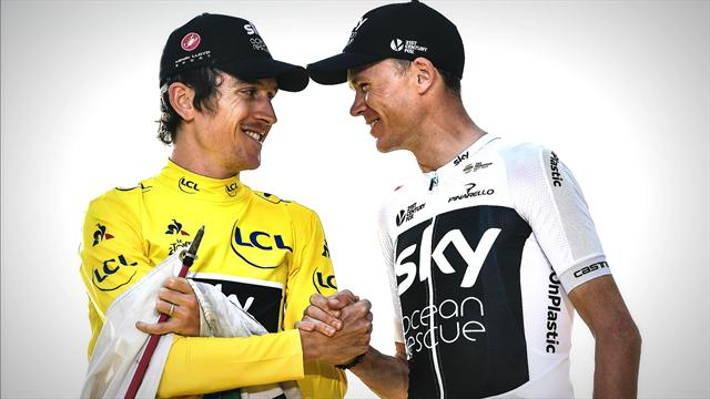 Thomas frustrated by Team Sky's preference of Froome