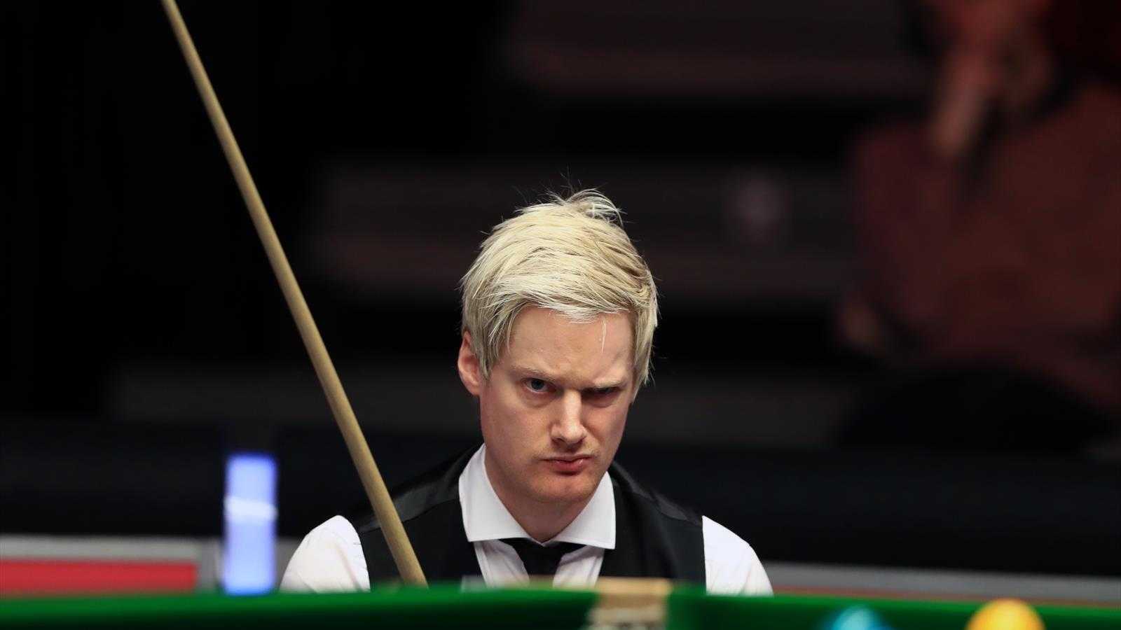 snooker news - neil robertson pounces on mark williams miss