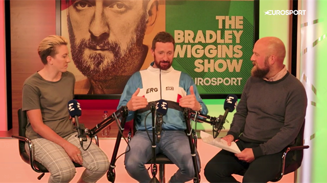 The Bradley Wiggins Show: Cycling is getting faster and more dangerous