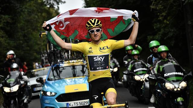 Dagli ori su pista alla maglia gialla del Tour de France, l'incredibile corsa di Geraint Thomas
