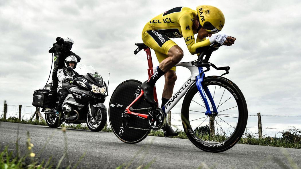 Tour de France 2018: Gallery: Geraint Thomas' win in