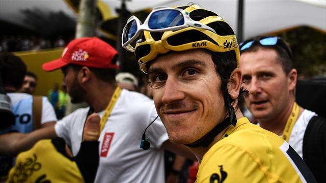 The incredible journey of Geraint Thomas