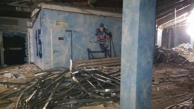 Арена «Авангарда» разваливается на части. Варианты временного размещения – Мытищи и Красноярск