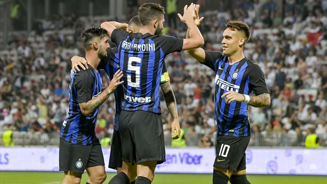 Gol capolavoro di Lautaro e l'Inter sogna: 1-0 all'Atletico Madrid