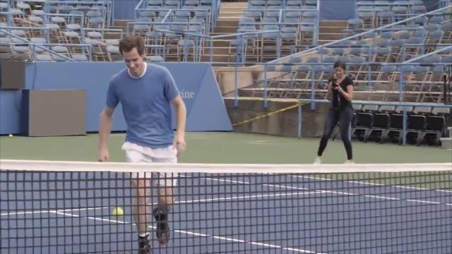 Citi Open - Murray testé au tennis-ballon par Rooney