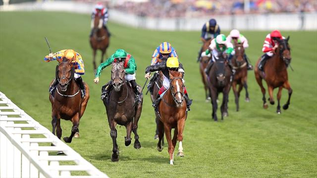 Wild Illusion conjures up magical win in Nassau Stakes at Goodwood