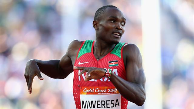 Kenya's Mweresa fails dope test ahead of African showpiece