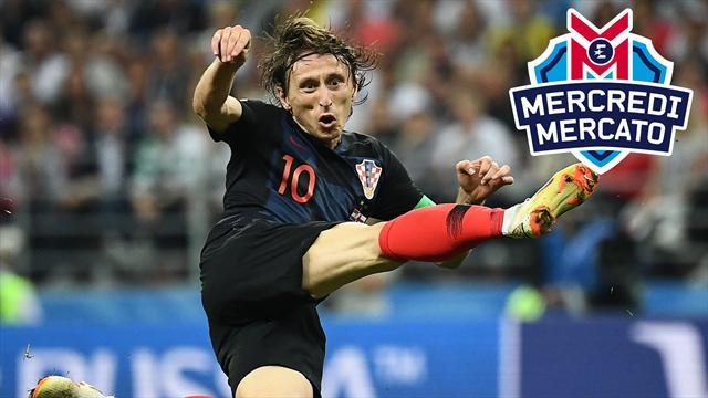 La folle rumeur Modric à l'Inter : on en parle dans Mercredi Mercato