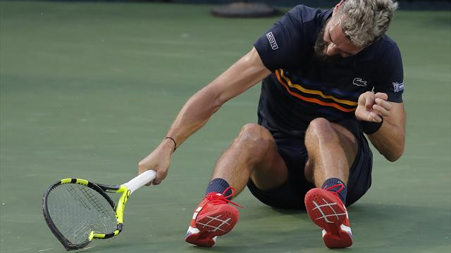 Paire fined $16,500 for Washington meltdown