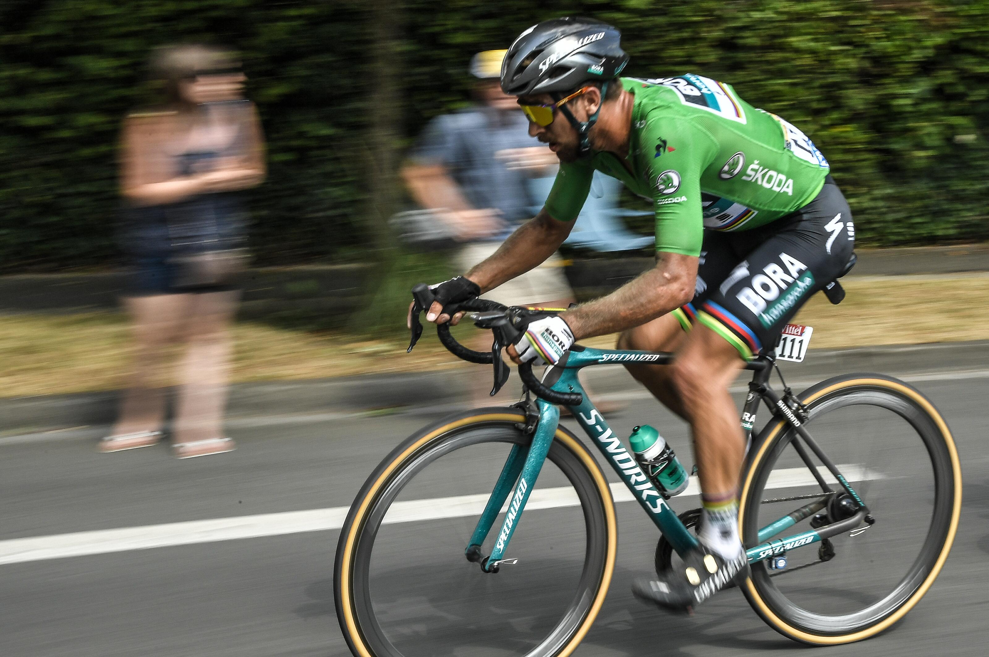 Sagan gewann bei der Tour de France das Grüne Trikot