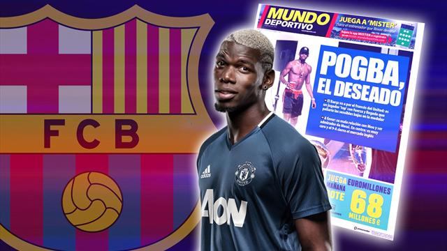 Image result for pogba + barca
