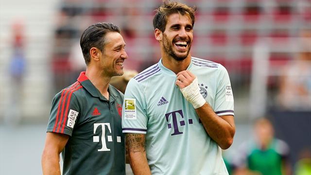 """""""Sehr viel Spaß"""": Arbeiter Kovac kommt beim FC Bayern an"""