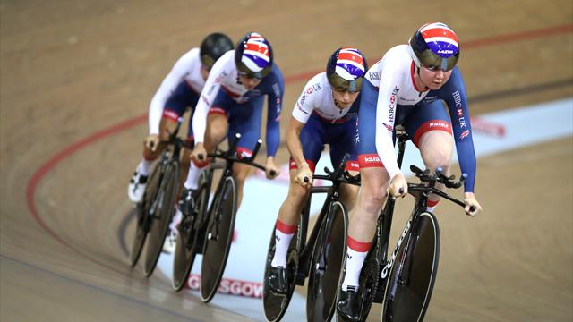 Kenny revels in Olympic buzz at Track World Cup