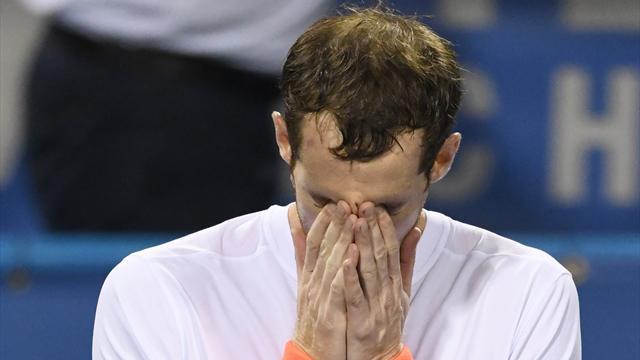 À 3h du matin, dans un stade presque vide, Murray a fondu en larmes
