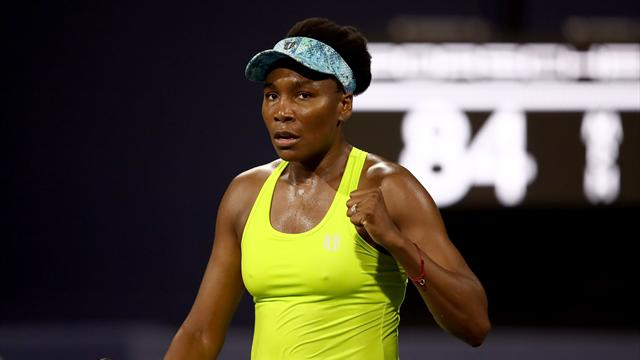 Venus advances in Silicon Valley Classic, Keys withdraws