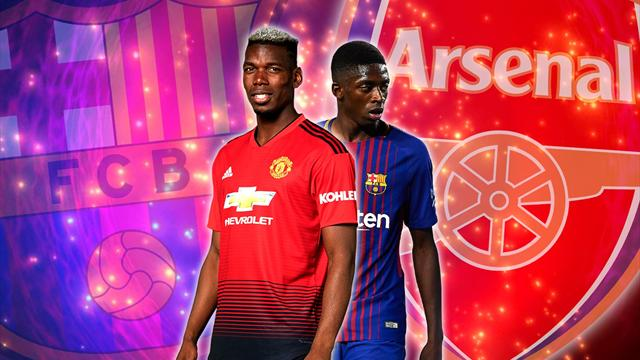 Euro Papers: Barcelona to sign Pogba after selling Dembele to Arsenal