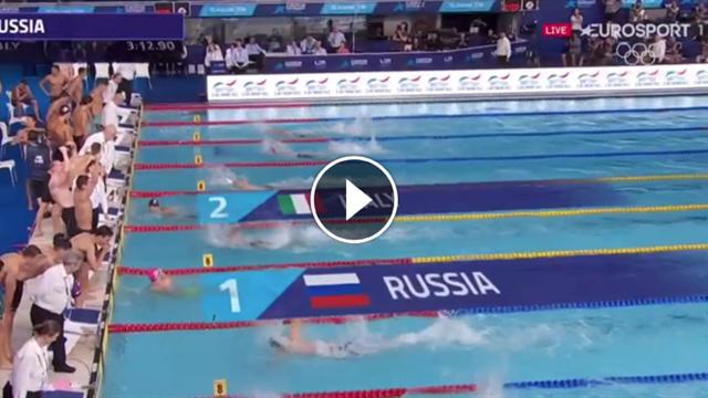 Un super Miressi trascina all'argento la 4x100 maschile, solo la Russia davanti all'Italia