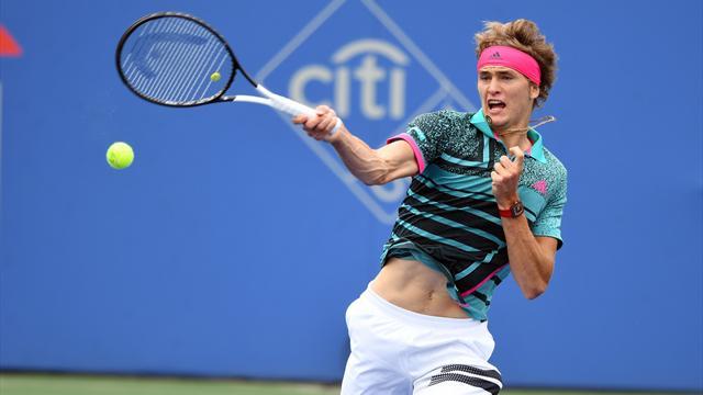 Finale entre De Minaur et Zverev, tenant du titre — ATP Washington