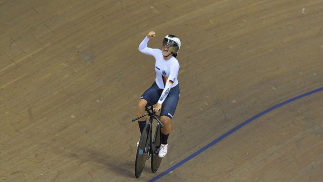Mit Video | Brennauer fährt überraschend deutlich zu Bahnrad-Gold