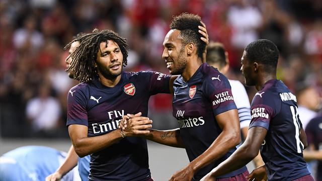 Arsenal take chances to end pre-season with Lazio win