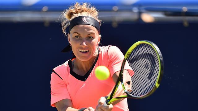 Kuznetsova l'emporte malgré une frayeur