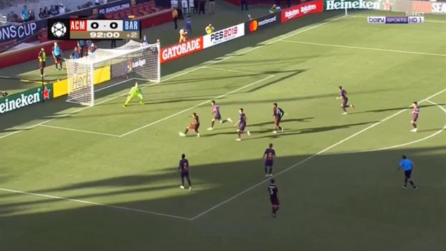 «Барселона» потерпела 2-ое поражение наМеждународном кубке чемпионов