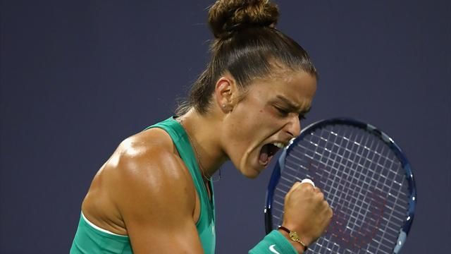 Maria Sakkari fights back to make Silicon Valley Classic final