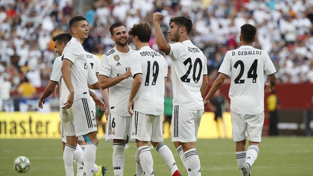 Asensio at the double as Real Madrid crush Juventus