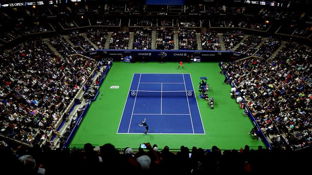 Regardez l'US Open en LIVE sur Eurosport