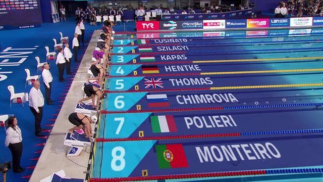 European Championship: finale 200 meter vlinderslag vrouwen