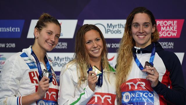 GB's Thomas grabs bronze in women's 200m butterfly