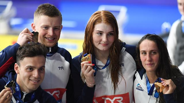 Peaty and GB triumph in mixed medley relay