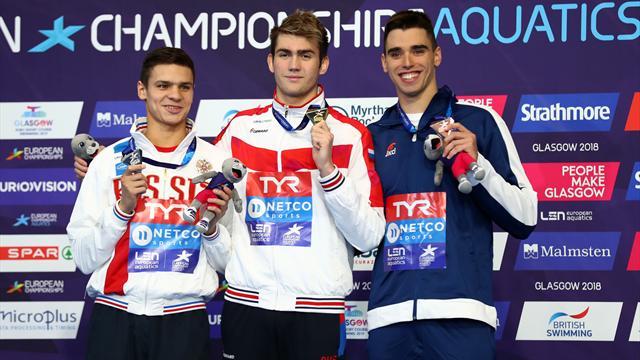 Россия выиграла 4 золота в пятый день и лидирует в медальном зачете ЧЕ