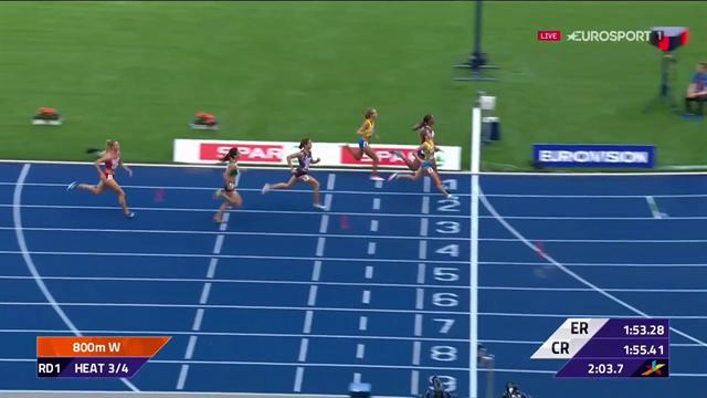 Lovisa Lindh till semifinal på 800 meter