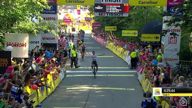 Michal Kwiatkowski s'adjuge le Tour de Pologne, Simon Yates, la dernière étape