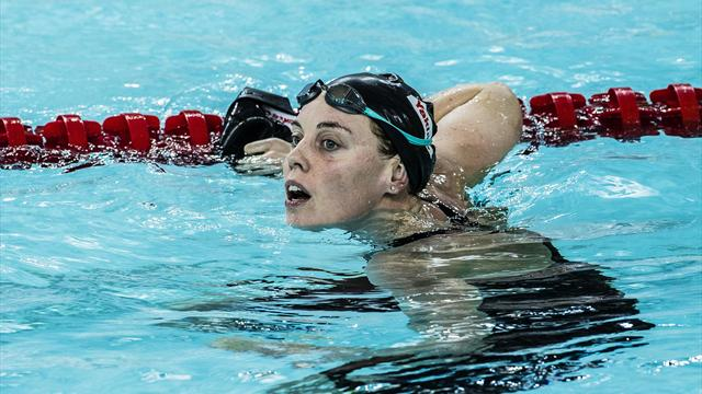 EK zwemmen: Femke Heemskerk moeiteloos naar finale 100 vrij