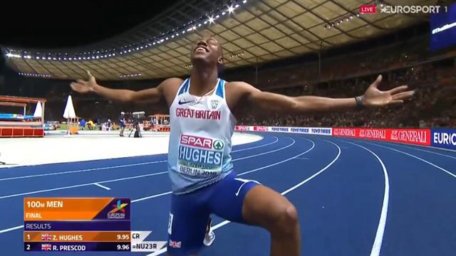 """Hughes slog nytt mästerskapsrekord: """"Det gick så fort"""""""