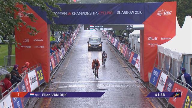 Doppietta olandese nella crono femminile: van Dijk batte van der Breggen, 7° Elisa Longo Borghini