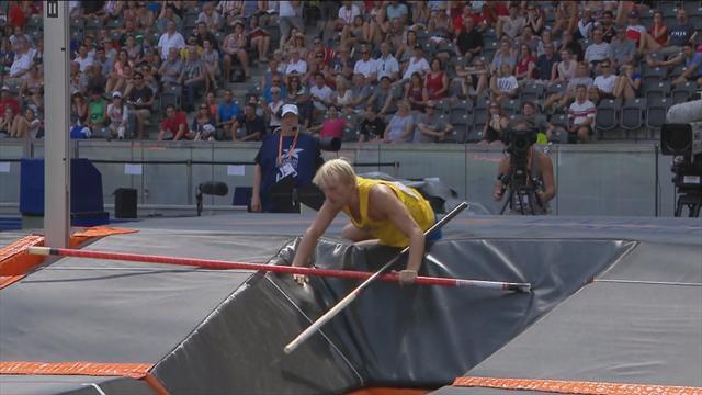 Europese Kampioenschappen: de sprong van de Zweed Nilsson gaat niet zoals gepland
