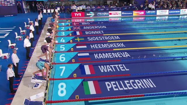 Sjostrom adds 100m freestyle title to gold haul