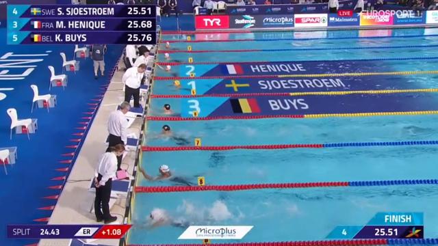 Kort efter EM-guldet - Sjöström tar sig till ny final