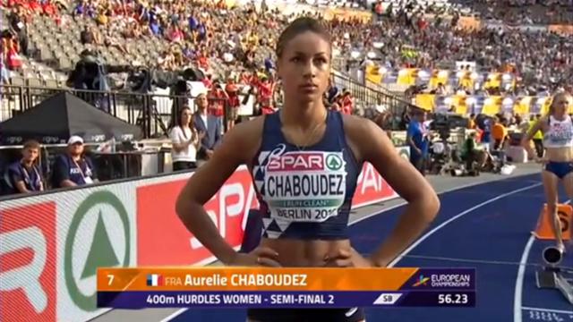 400 mètres haies : Pas d'exploit pour Chaboudez, éliminée en demi-finales
