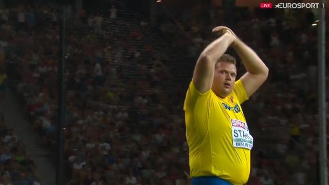 Efter diskusdramat – Ståhl vann EM-silver