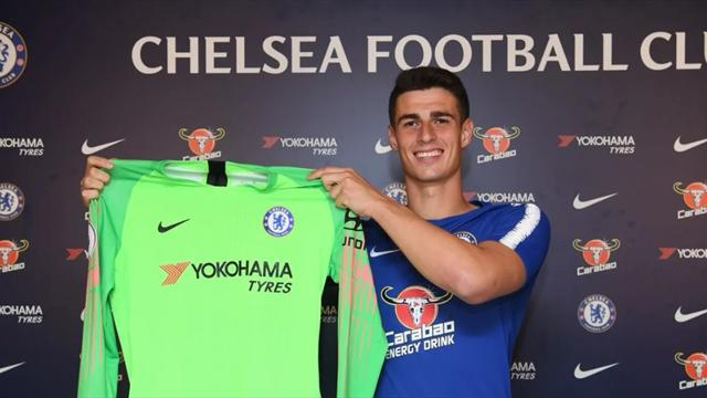 Il Chelsea annuncia l'arrivo di Kepa, il portiere più caro della storia