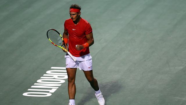 Wawrinka a tout donné mais Nadal n'a pas tremblé