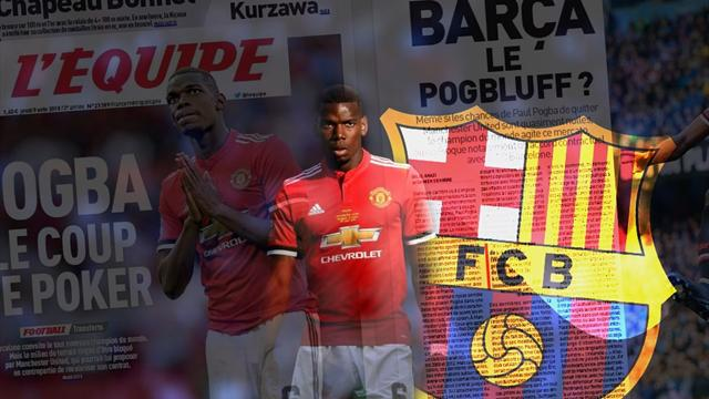 Euro Papers: Is Pogba set for stunning deadline day Barcelona coup?