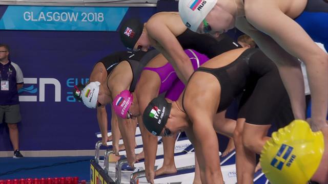 Тот самый золотой заплыв, в котором Ефимова стала абсолютной чемпионкой Европы-2018